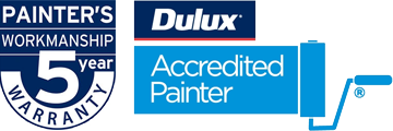 Dulux Accredited Painter + 5 Year Warranty
