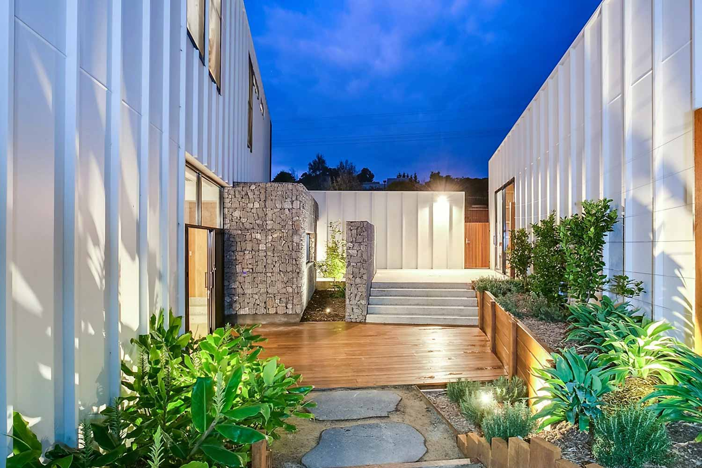 outdoor timber deck