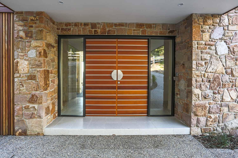 beautiful timber door